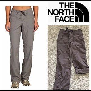 North Face Horizon Tempest Roll-Up Pant Women EUC